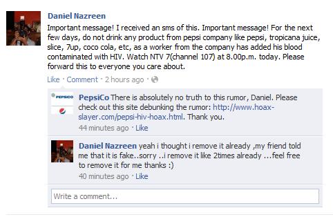 Handling adverse social media
